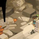 「LARA CROFT GO」ローポリなララでパズルゲーム