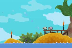 「WUPPO」かわいい手書きのキャラがたくさんでてくる2Dアクションゲーム